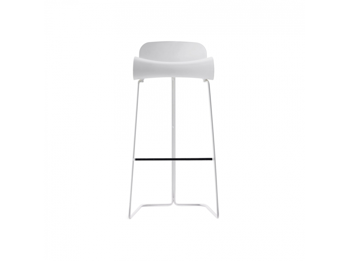 Bcn stool made in italy by kristalia designed by harry camila