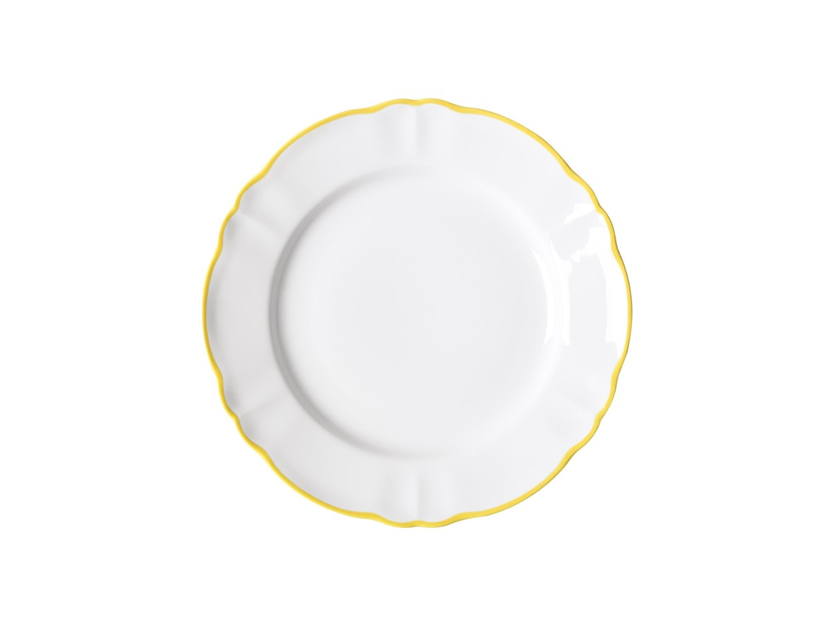 Parisienne porcelain dinner plate by Bitossi made in Italy
