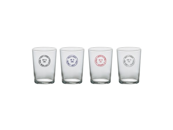 Travel Set 4 Beer Glass