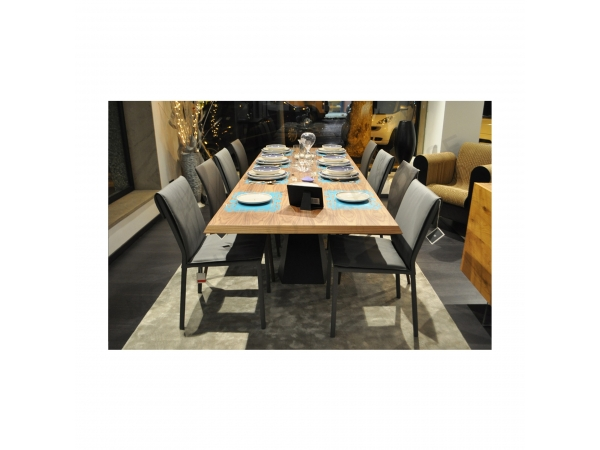 Eliot Wood Drive Table - SALES