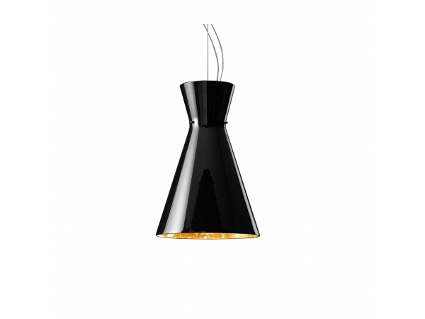 Memory Black&Gold Suspension Lamp