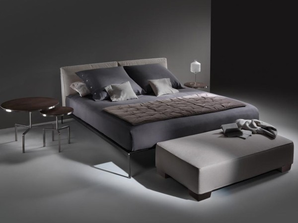 Flexform Lifesteel Letto Matrimoniale