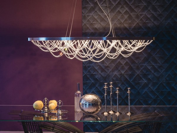 Cattelan Italia Cristal Suspension Lamp