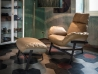 Arketipo Jupiter Lite Armchair upholstered in leather