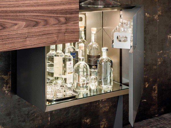 Cattelan Italia Portos Mobile Bar