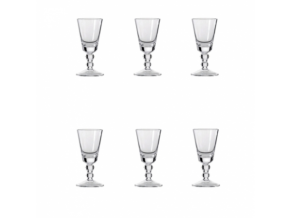 Rocks Set 6 Wine Glasses