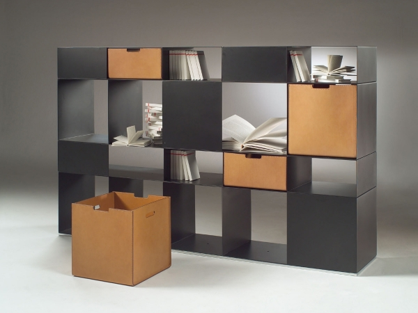 Flexform Infinity Bookcase unit for living room