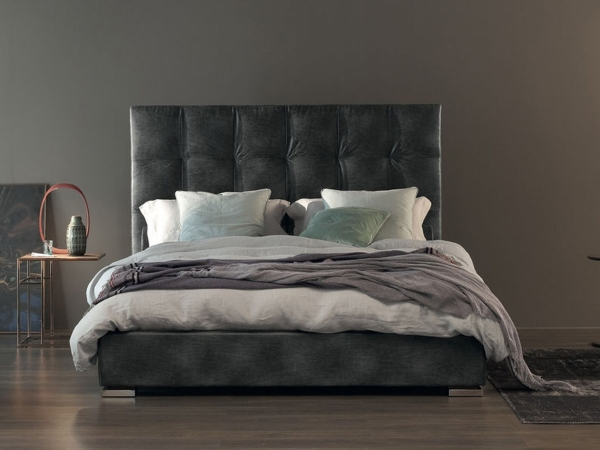 Max Capitonnè Lower Headboard Double Bed