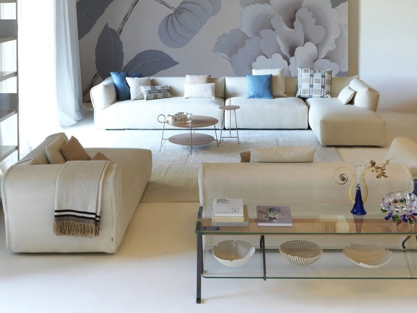 Rever Sofa by Driade layout