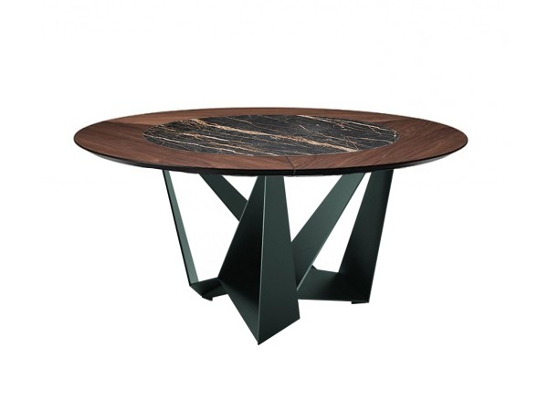 Skorpio Round Ker-Wood Table