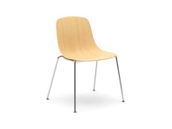 Infiniti Pure Loop Chair 3D wood