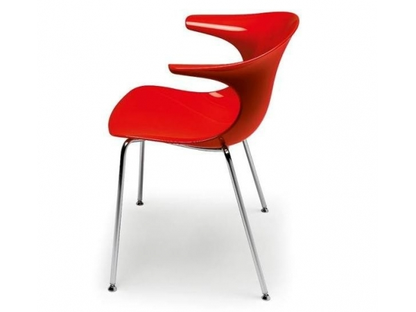 Infiniti Pure Loop Chair red