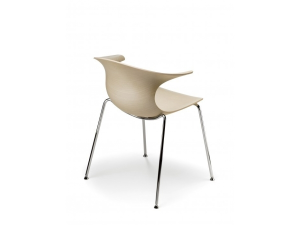 Infiniti Loop Chair 3D wood