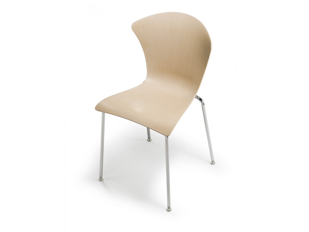 Infiniti Glossy Chair 3D wood