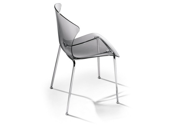 Infiniti Glossy Chair white