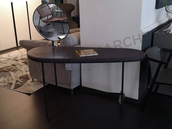 Pebble Vanity table by Living Divani at discounted price with mirror