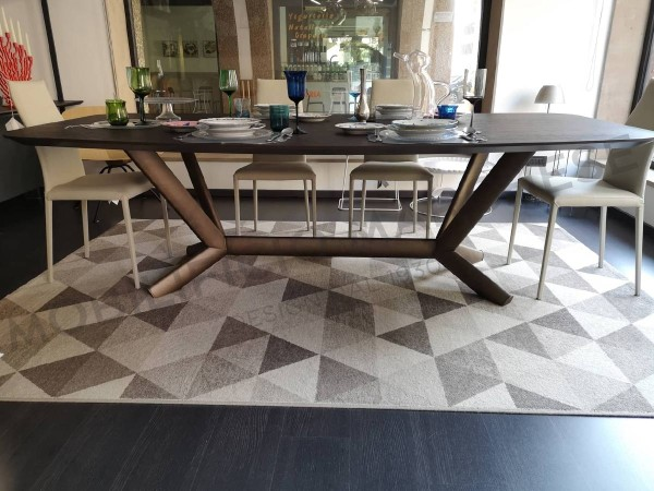 Planet Wood Table by Cattelan Italia - Sales Discount