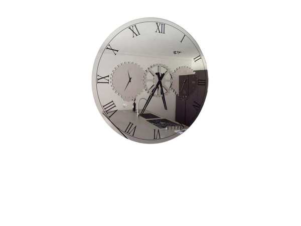 Times Clock Mirror Cattelan