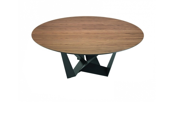 Skorpio Round Wood Table
