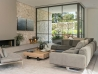 Soft Dream sofa by Flexform in living room with wooden table