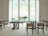 Infinity by Porada: wood table made in italy