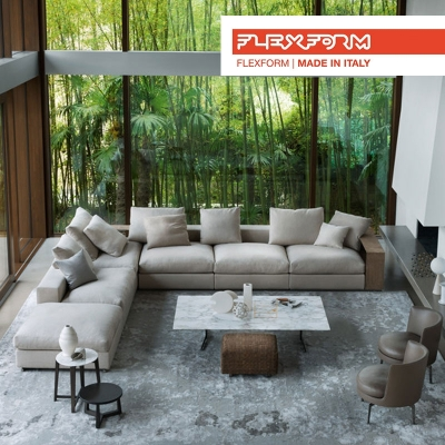 Flexform worldwide leader for sofas, armchairs and beds