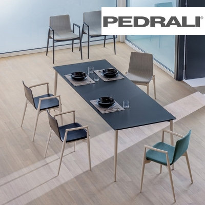 Pedrali: design chairs and tables made in Italy