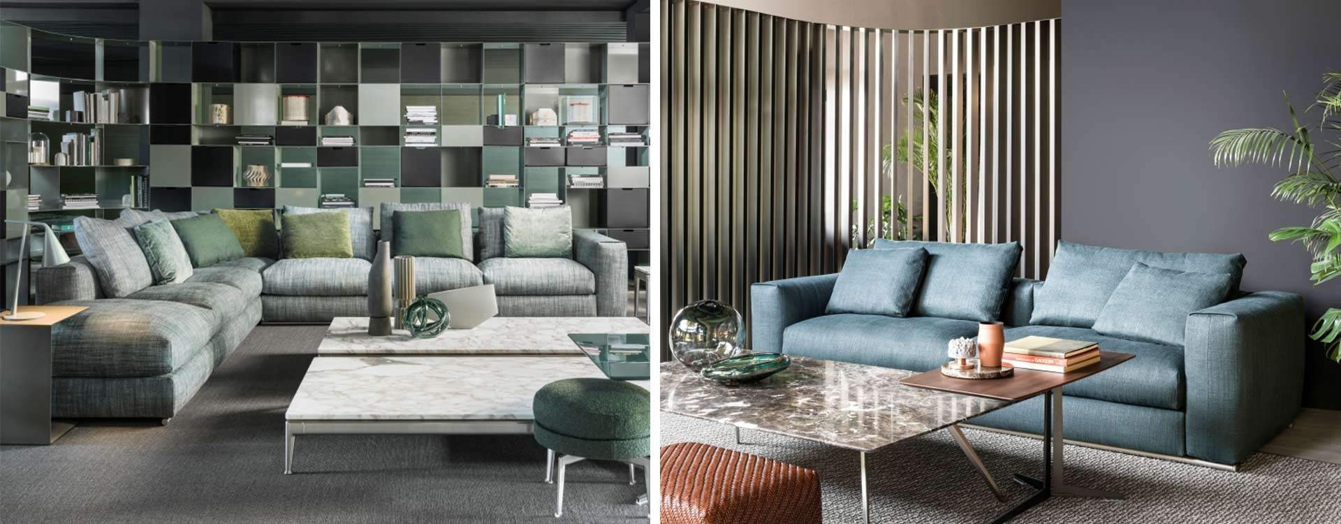Asolo Flexform sofa collection 2020