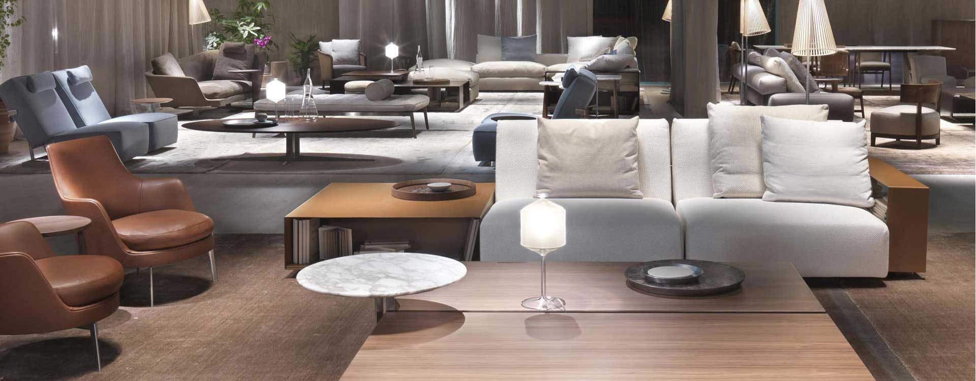 Space matters for sectional sofa example in living room