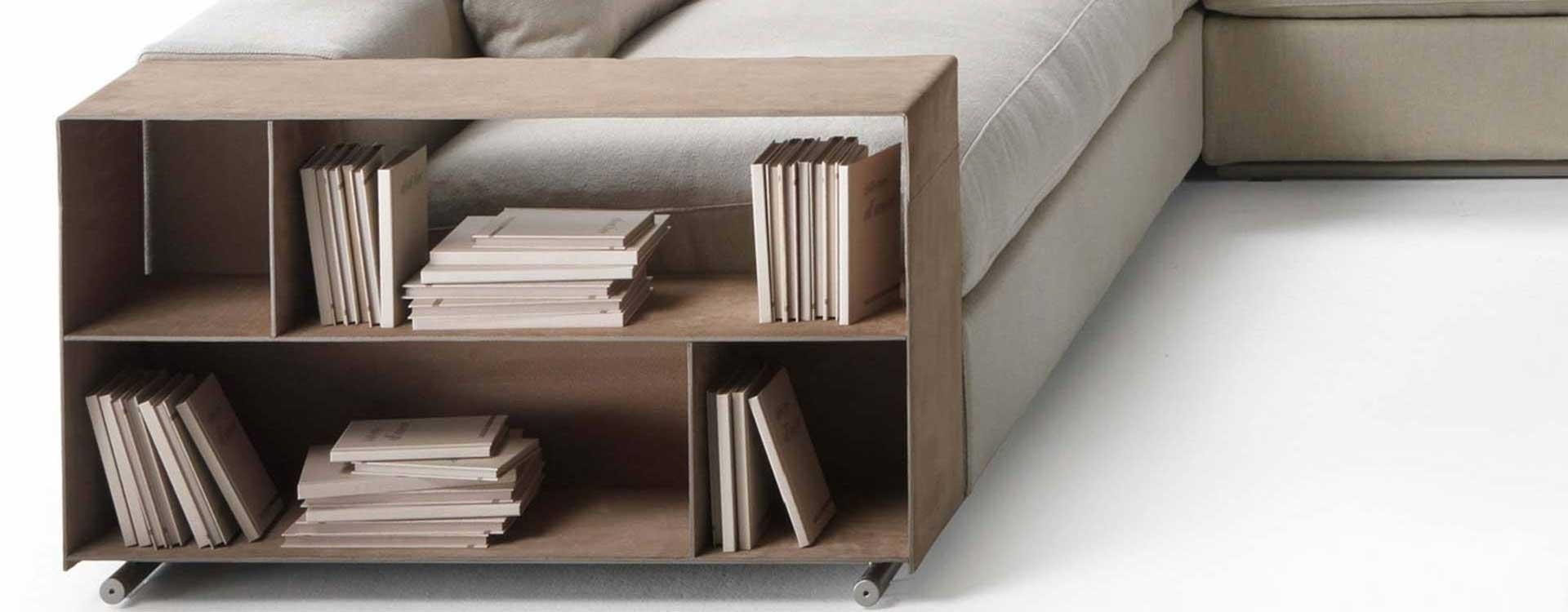 Armrest detail library from Flexform Grounpiece