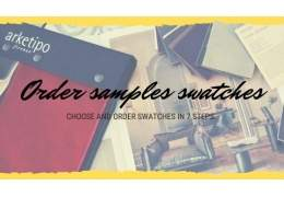 Choose and order fabric samples swatches in 7 steps
