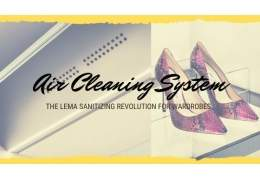 Lema Air Cleaning System: the intelligent wardrobe